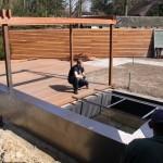 Tuin pergola plaatsen door Hans Verstraaten Hoveniers - schuttingen - bouwkundige werken
