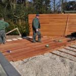 Veranda plaatsen in tuin - Hans Verstraaten Hoveniers - schuttingen - bouwkundige werken